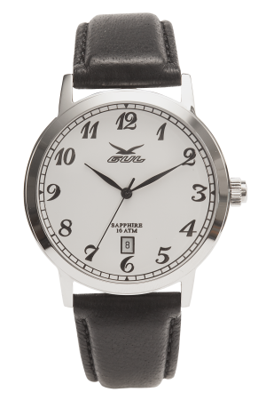824011011-Piccadilly-II-White-numbers,-Black-leather