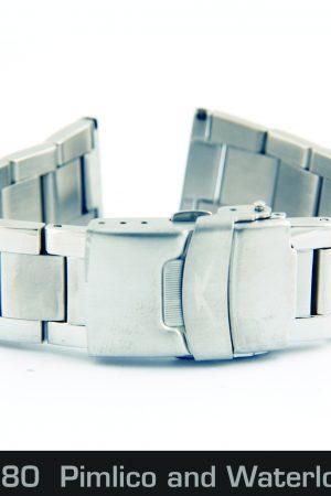 201252080 Steel Bracelet, Pimlico and Waterloo 20mm_