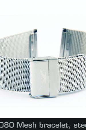 201462080 Mesh bracelet, steel, 22mm