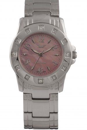 820012131 Ascot Steel, Pink MoP, Bracelet